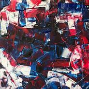 Acrylic on Canvas (30 x 42 cm)