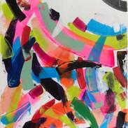 Acrylic on Canvas (60 x 42 cm)