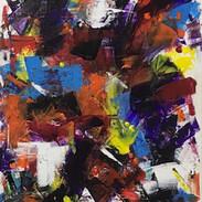 Acrylic on Canvas (60 x 45 cm)