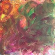 Acrylic on Canvas (30 x 30 cm)