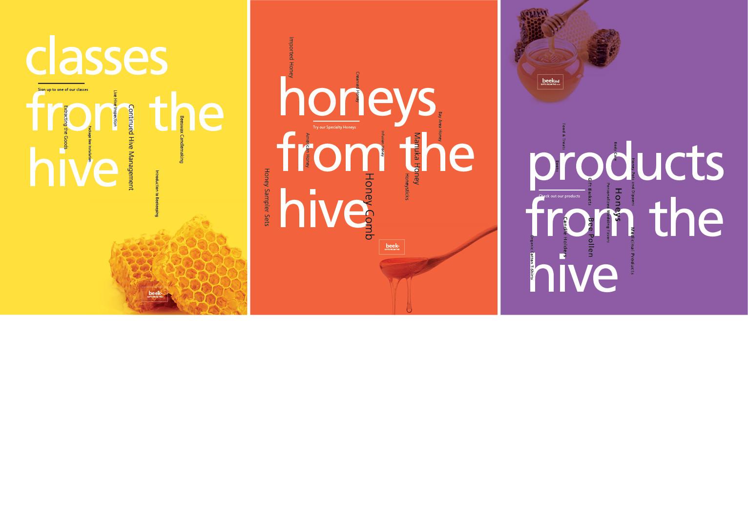 Beekind Poster Series