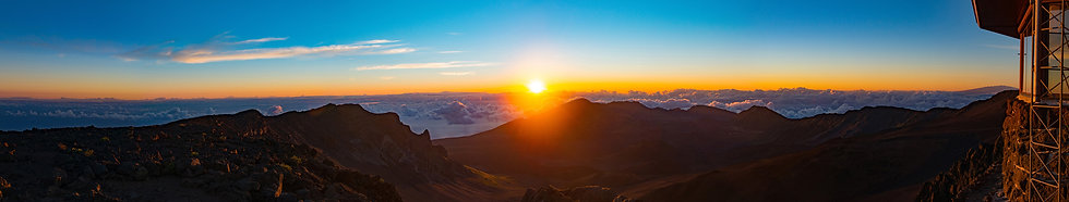"""Sunrise on Mt. Haleakala #2""  (Signed • Numbered • Limited Edition)"