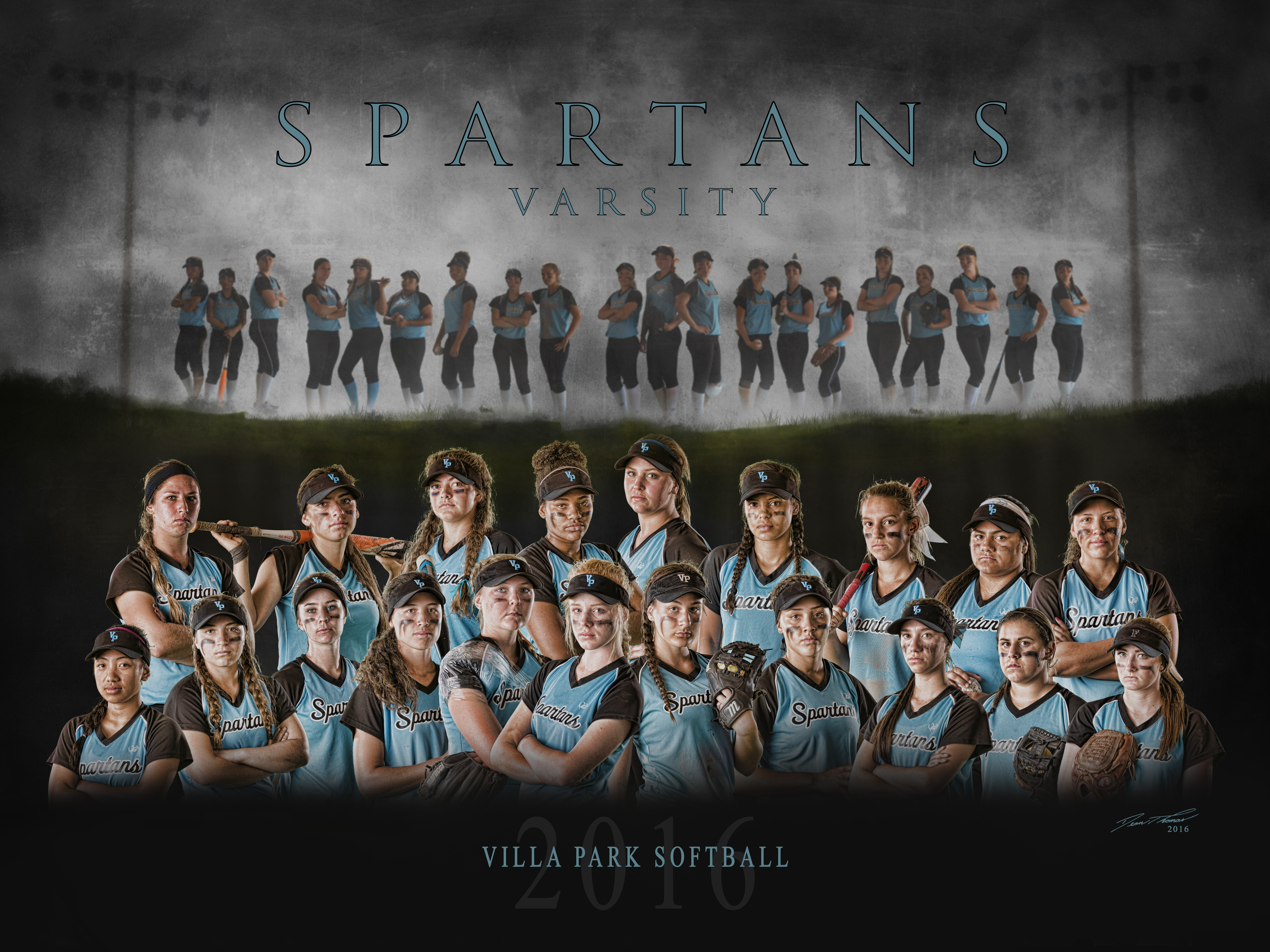 VPHS Varsity Softball Team - 2016