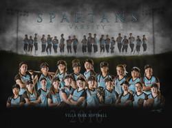 VPHS Varsity Softball Team - 2016
