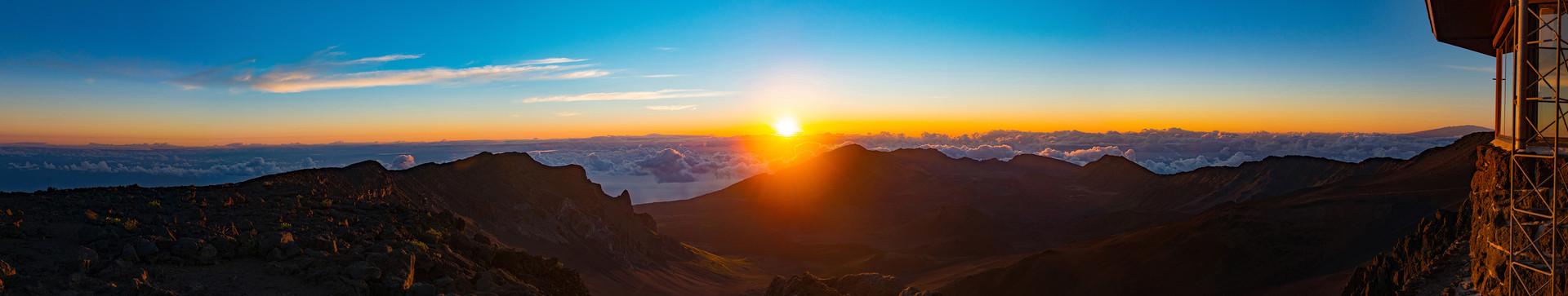 Sunrise on Haleakala no2-21X4-noborder-S