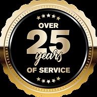 25 Years Badge
