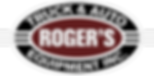 ROGER'S TRUCK, AUTO AND EQUIPMENT LOGO