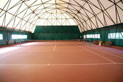 Uno dei campi indoor
