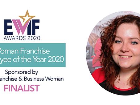 Louise achieves double EWIF award