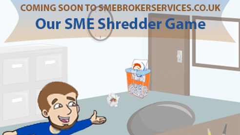 SME Shredder Game Advert
