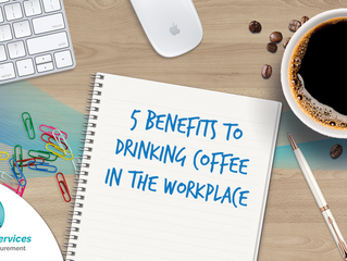 5 Benefits to Drinking Coffee in the Workplace