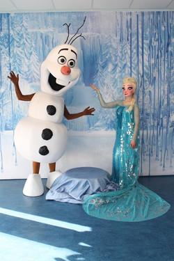Mascotte Frozen