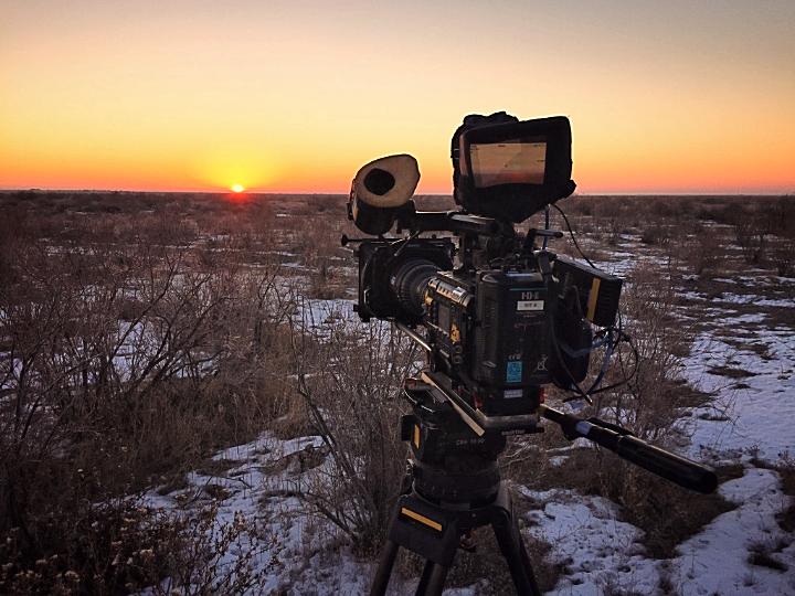 Kazakhstan sunrise