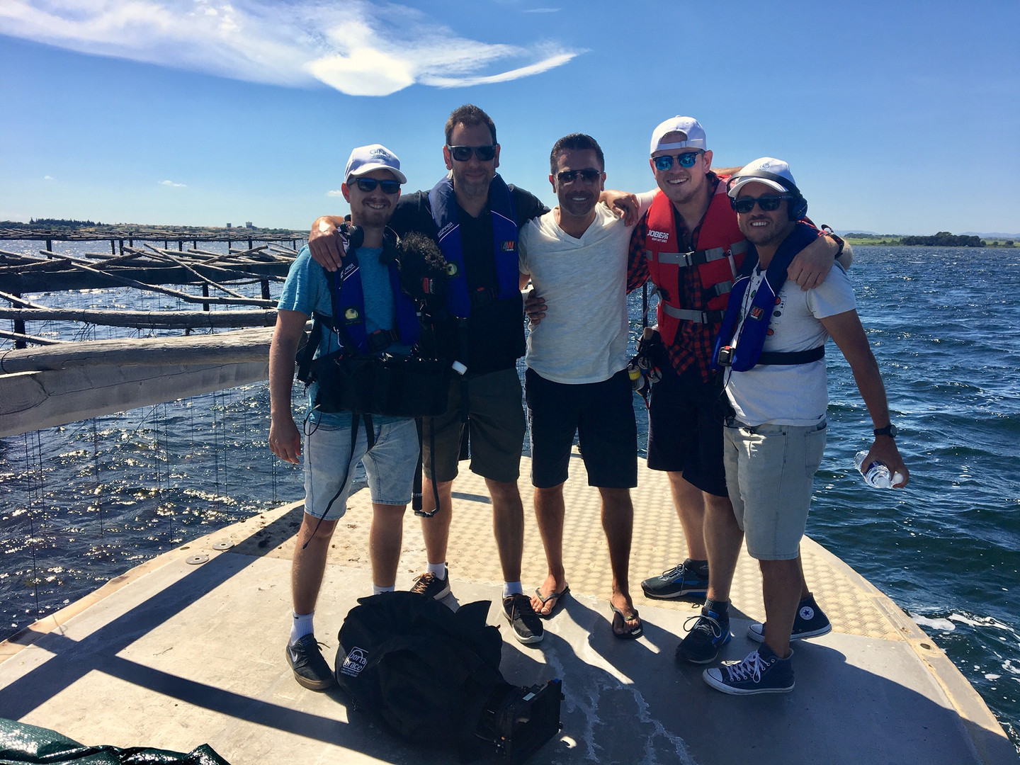 Oyster catching with Gino D'Acampo