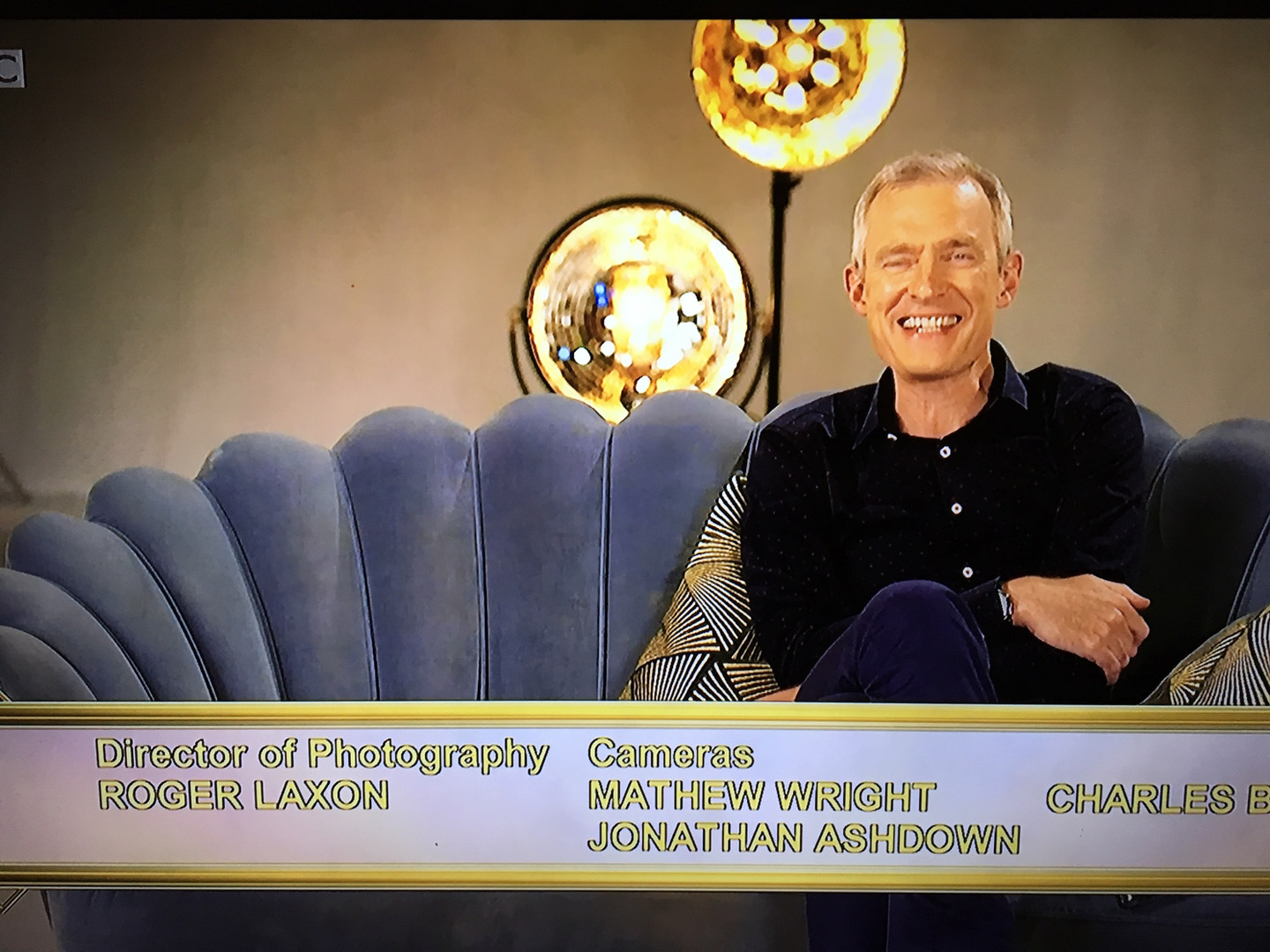 Camera Operator on Strictly the Best