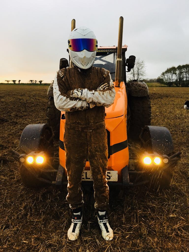 Stig with the fastest tractor in the world