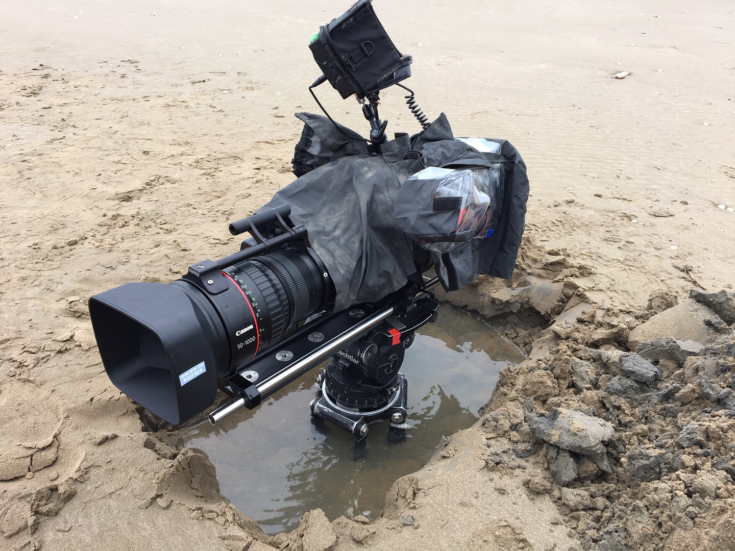 Not ALL jobs are glamarous - Pendine Sands