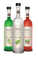 Ibizza Glass Bottle
