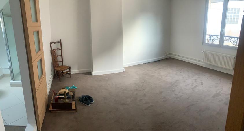 Photo de la chambre avant travaux
