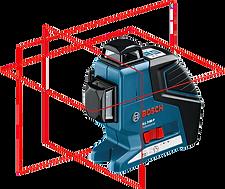 Лазерный уровень Bosch GLL 3-80 Professional