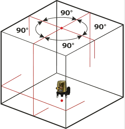 Лазерный нивелир (уровень) Redtrace KAPRAL