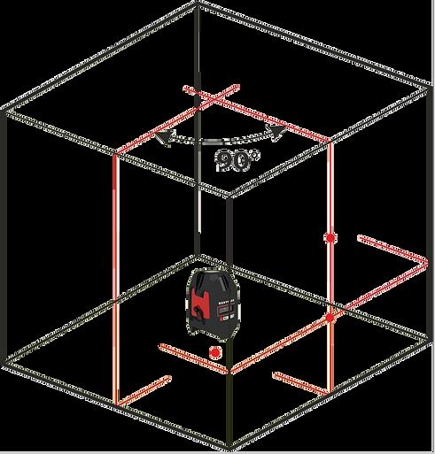 Лазерный  нивелир (уровень)  Redtrace Combat
