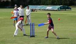 Batter at 2019 Falcon Summer Camp at Finchley Cricket Club