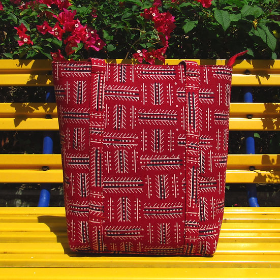 Sulu Tote in Red