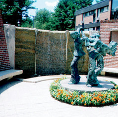 Stonehill College Wall Fountain