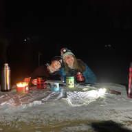 Torchlit supper & ski by Linsey Taylor - Jones