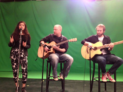 Bry with Doug and Nick on TV