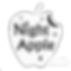 White Night Apple Logo transparent.png
