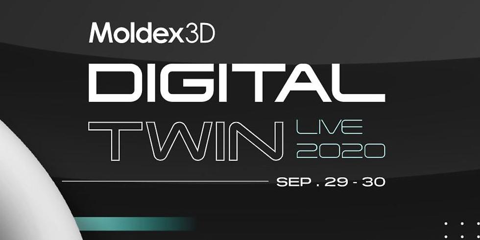 Moldex3D Digital Twin Live 2020
