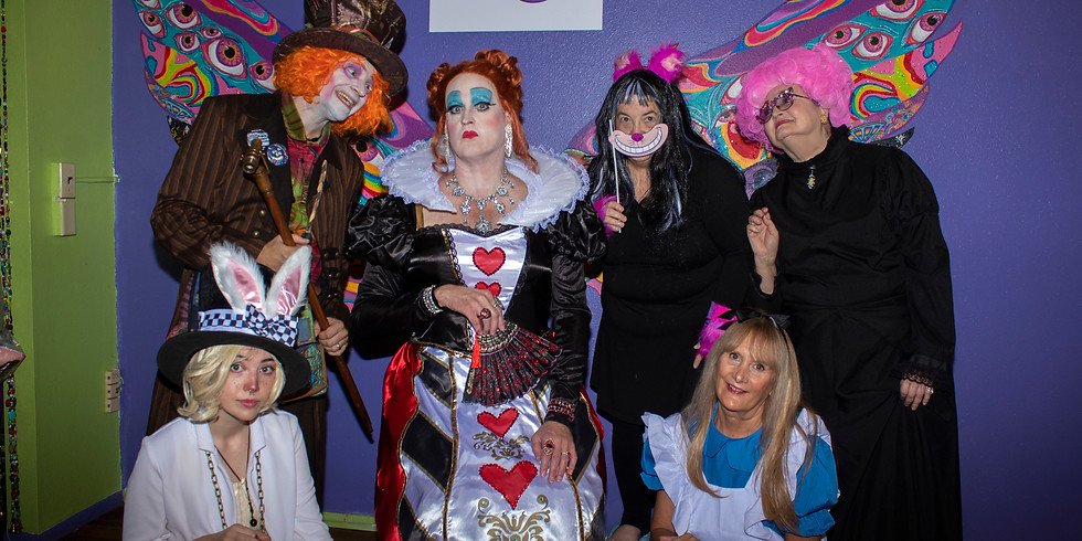 Mad Hatter tarot and tea Party
