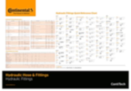 Continental Hydraulic Fittings (Wall Chart)