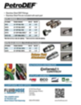 Learn more about Fluid Hose's exclusive line of petroleum dispensing fittings.