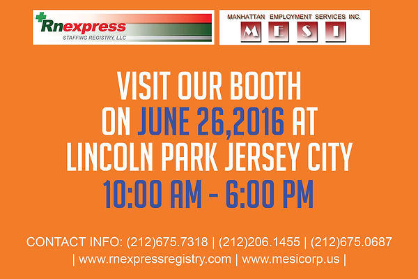 RN Express Booth | Jersey City