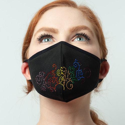 Metroglam Rainbow Pride Posh Mask