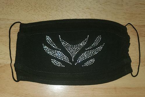 Premium Linen 3D Velocity Crystal Mask