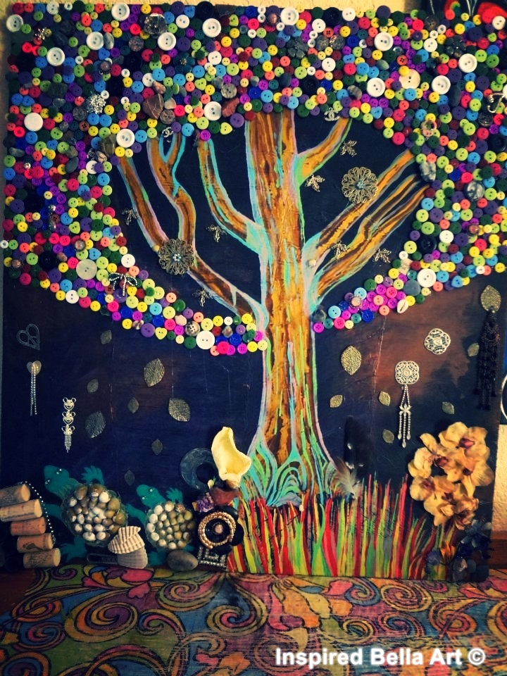'The button tree'