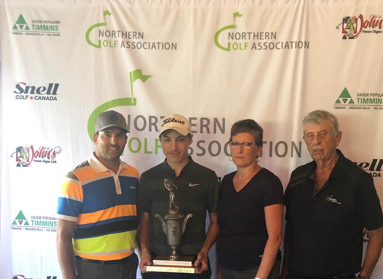 U17 Champion Nick Cundari (North Bay Golf & Country Club)