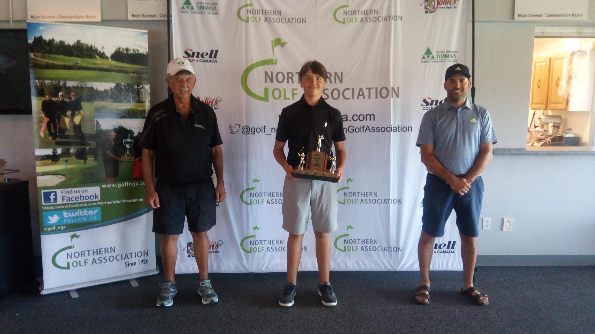 Tucker Oreskovich U15 Division Champion