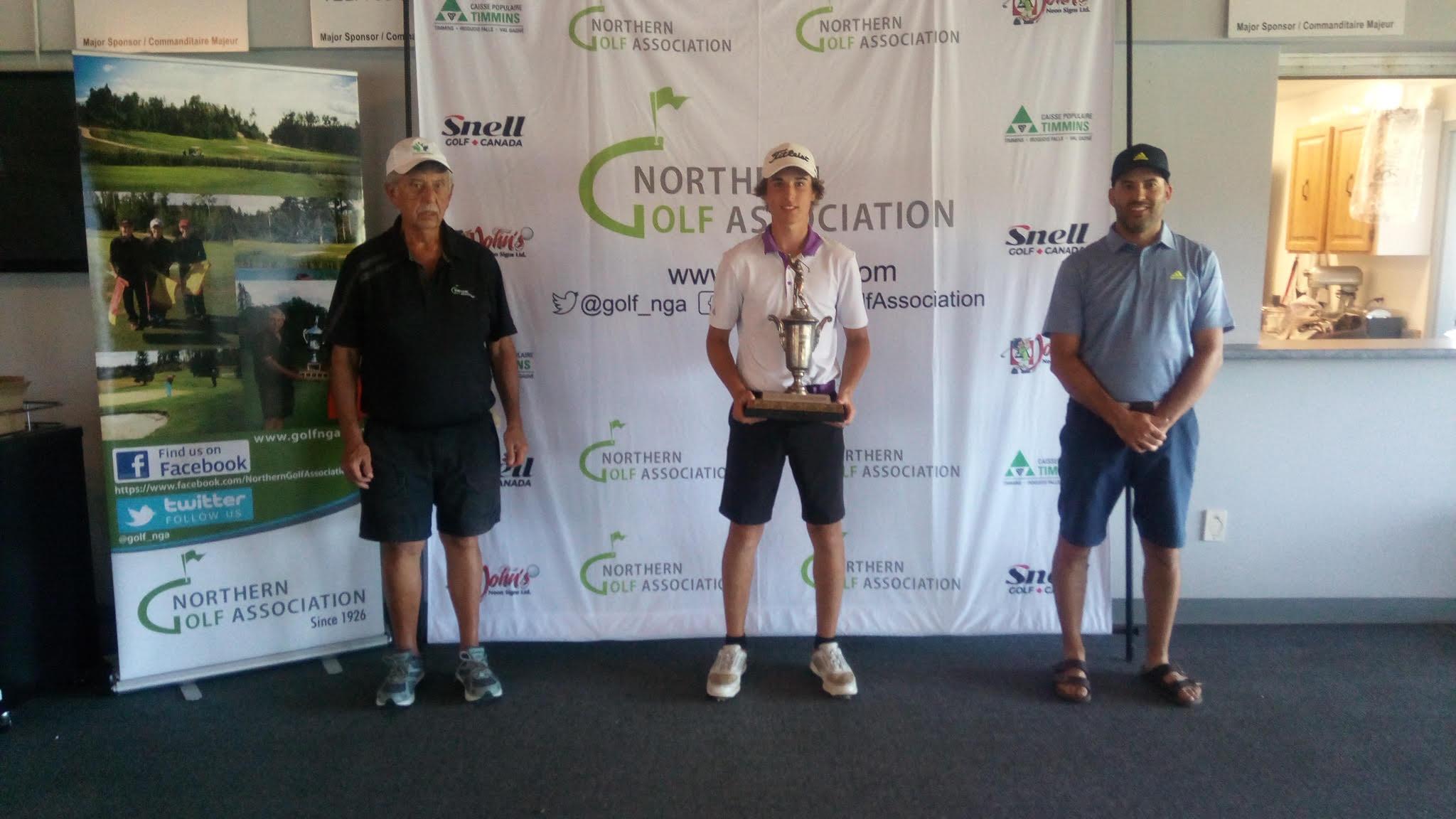 Caleb Guindon U17 Division Champion