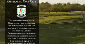 Northern Ontario Junior Championships set to Take Place at Kapuskasing Golf Club