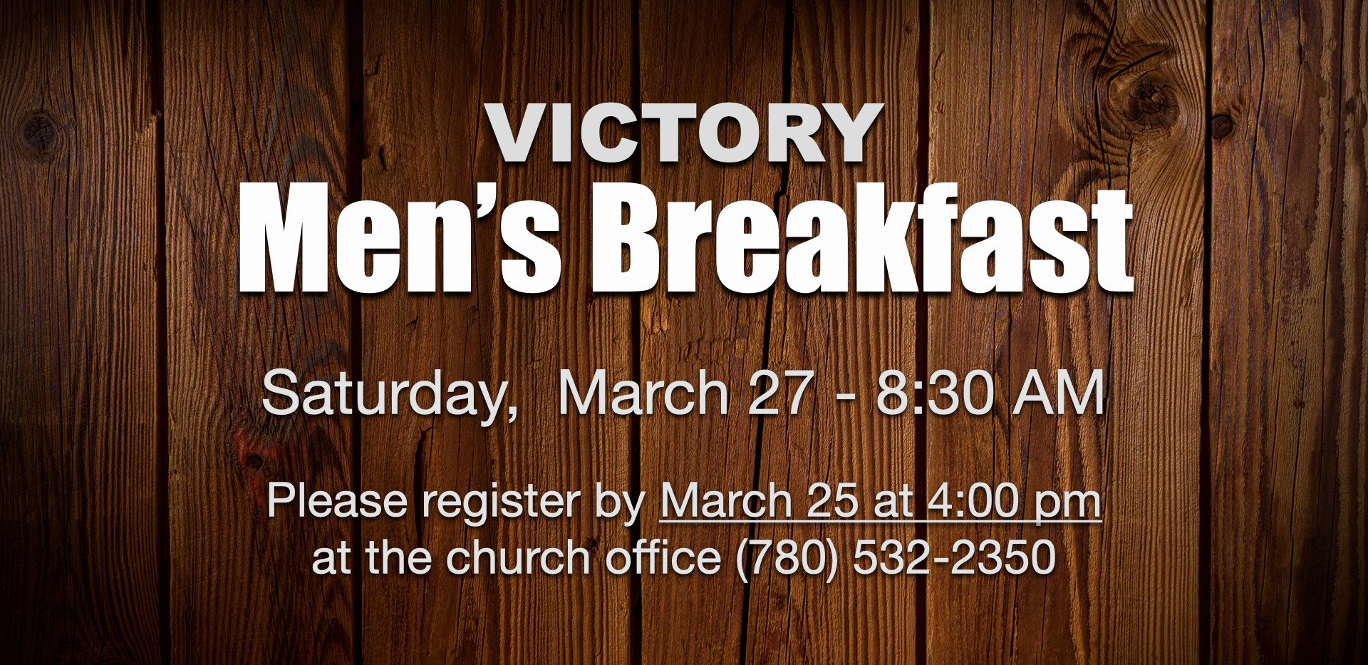 VIctory Men's Breakfast