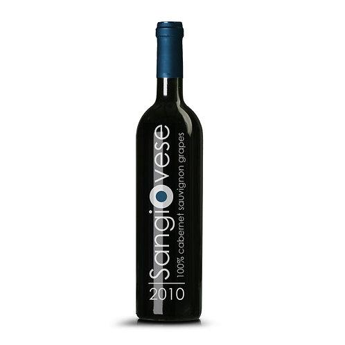 Fles rode wijn