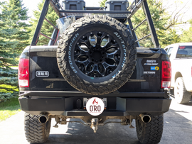 Rear Bumper with Tire Carrier