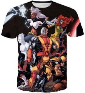 X-Men Inspired Art