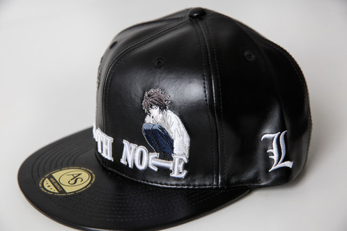 96e89bd4dab FULL LEATHER Death Note Snapback Limited Edition