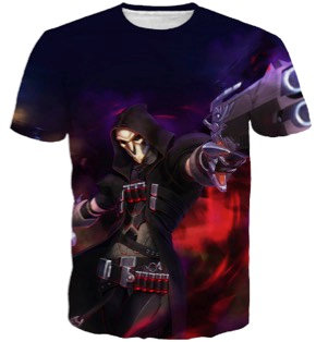 Overwatch Reaper Soldier 76